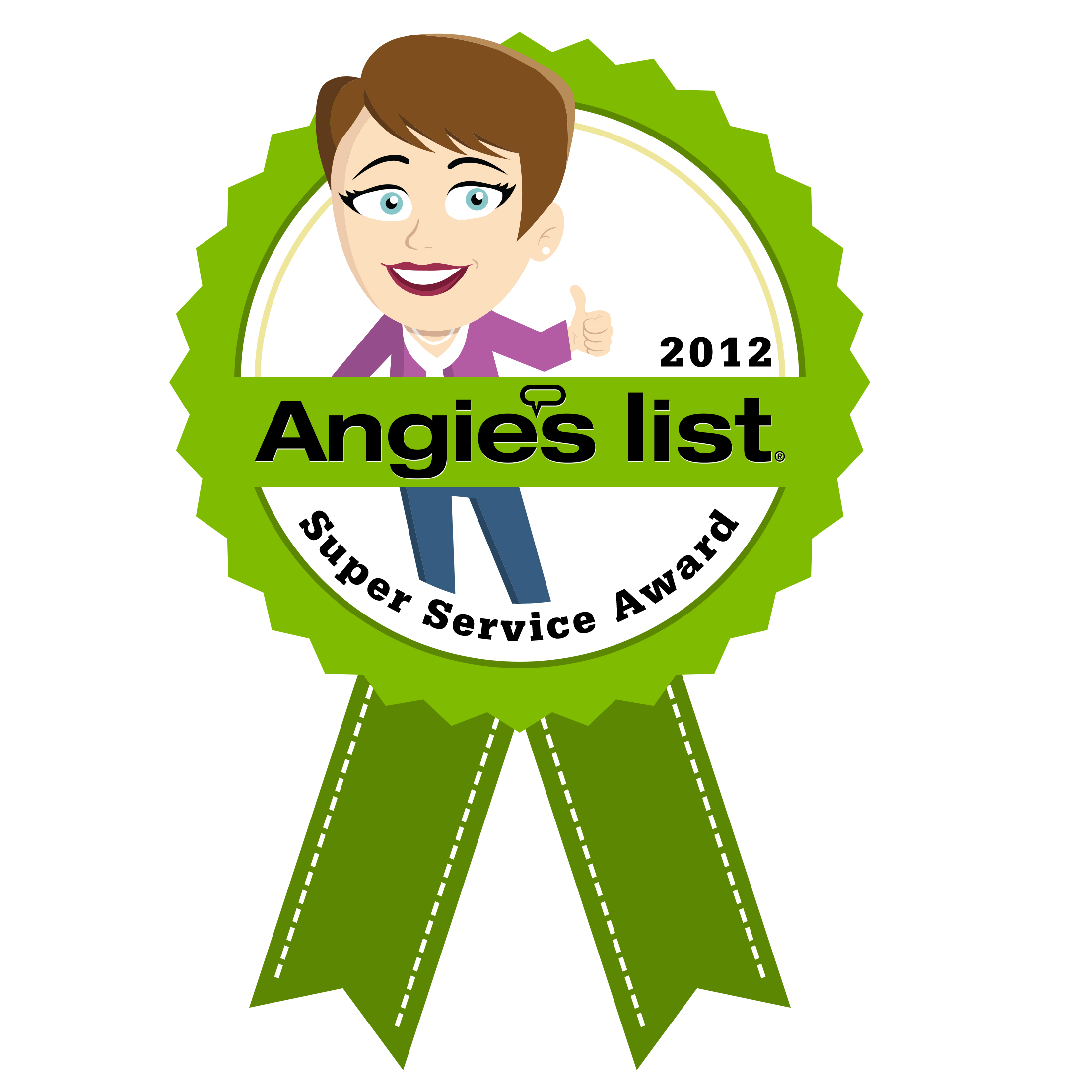 Angie's List Super Service Award Contractor